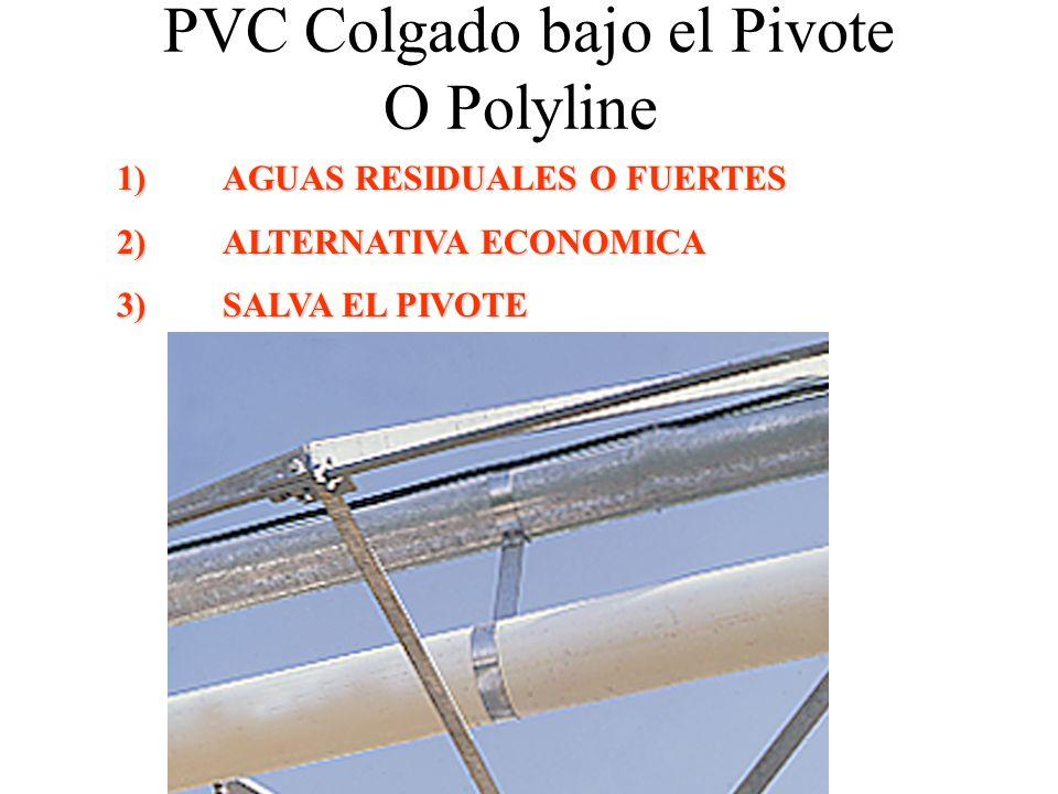 PVC Colgado bajo el Pivote O Polyline