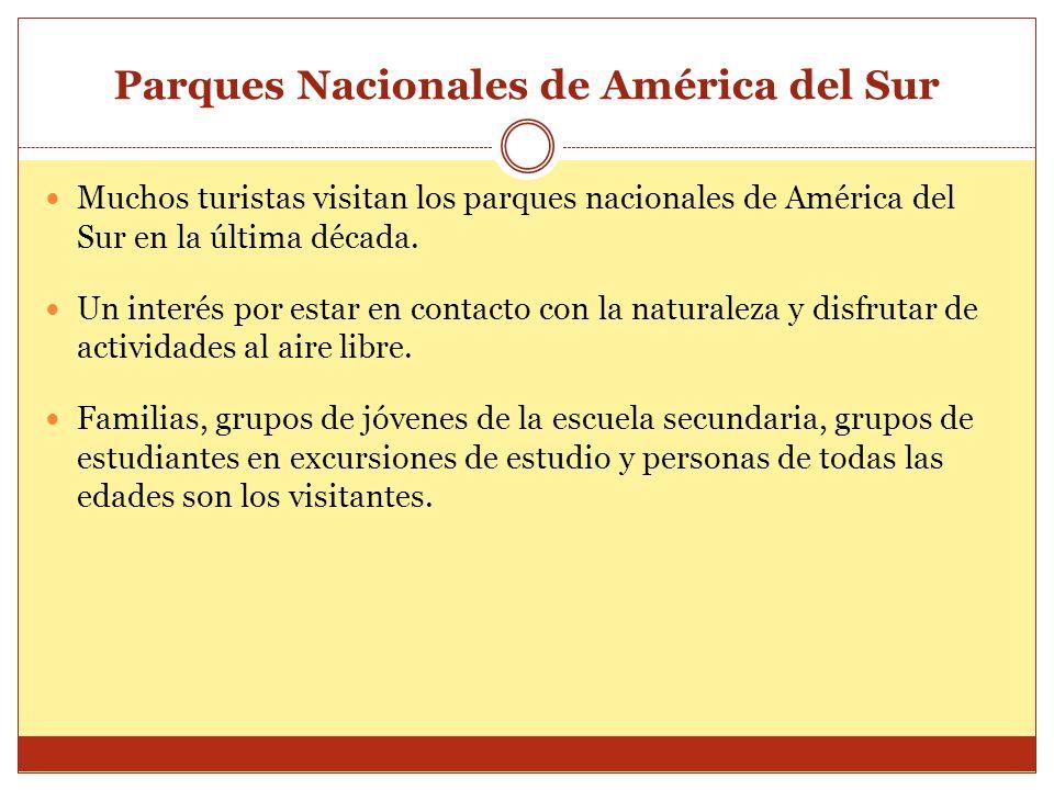 Parques Nacionales de América del Sur