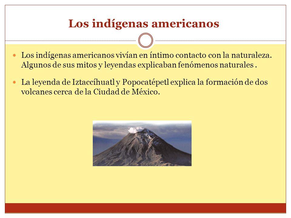 Los indígenas americanos