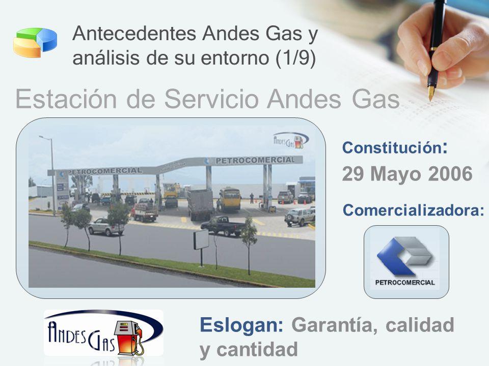 Antecedentes Andes Gas y análisis de su entorno (1/9)