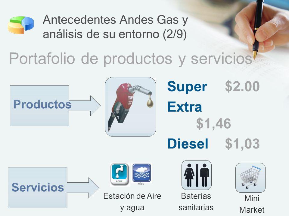 Antecedentes Andes Gas y análisis de su entorno (2/9)