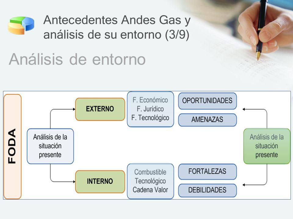 Antecedentes Andes Gas y análisis de su entorno (3/9)