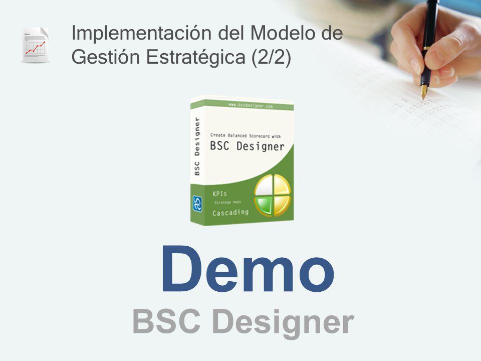 Implementación del Modelo de Gestión Estratégica (2/2)