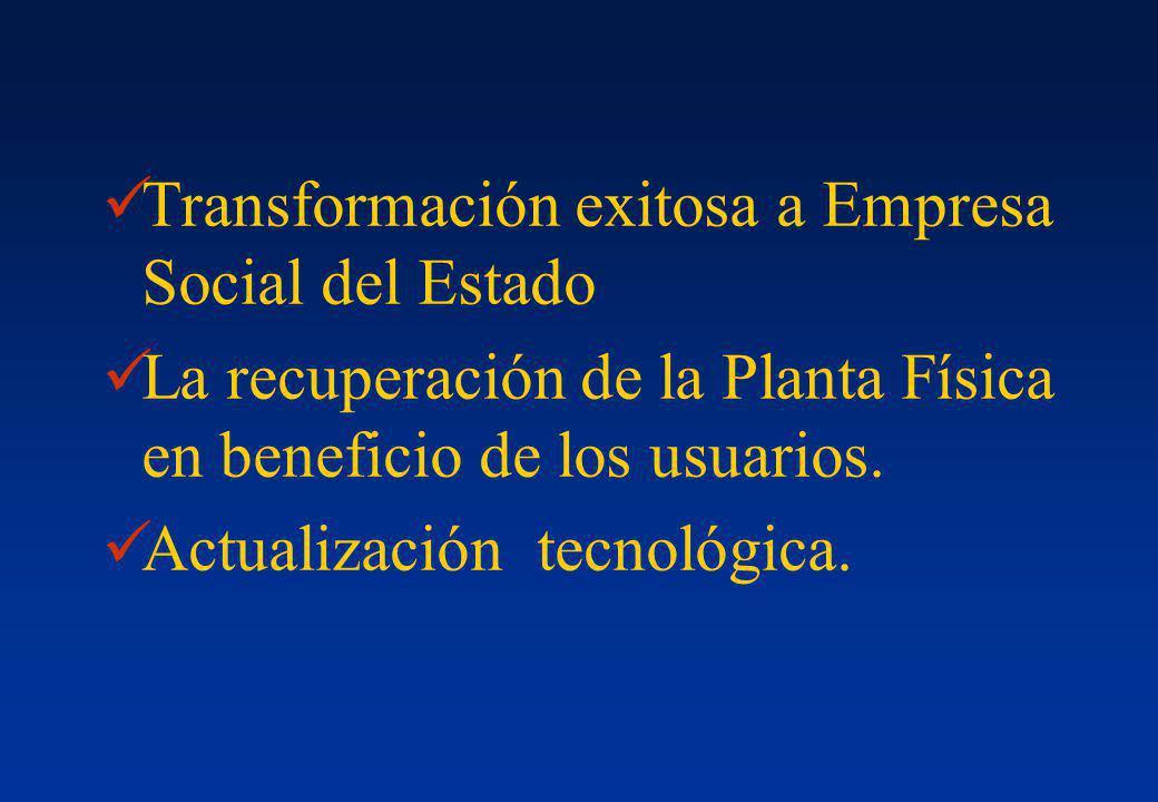 Transformación exitosa a Empresa Social del Estado