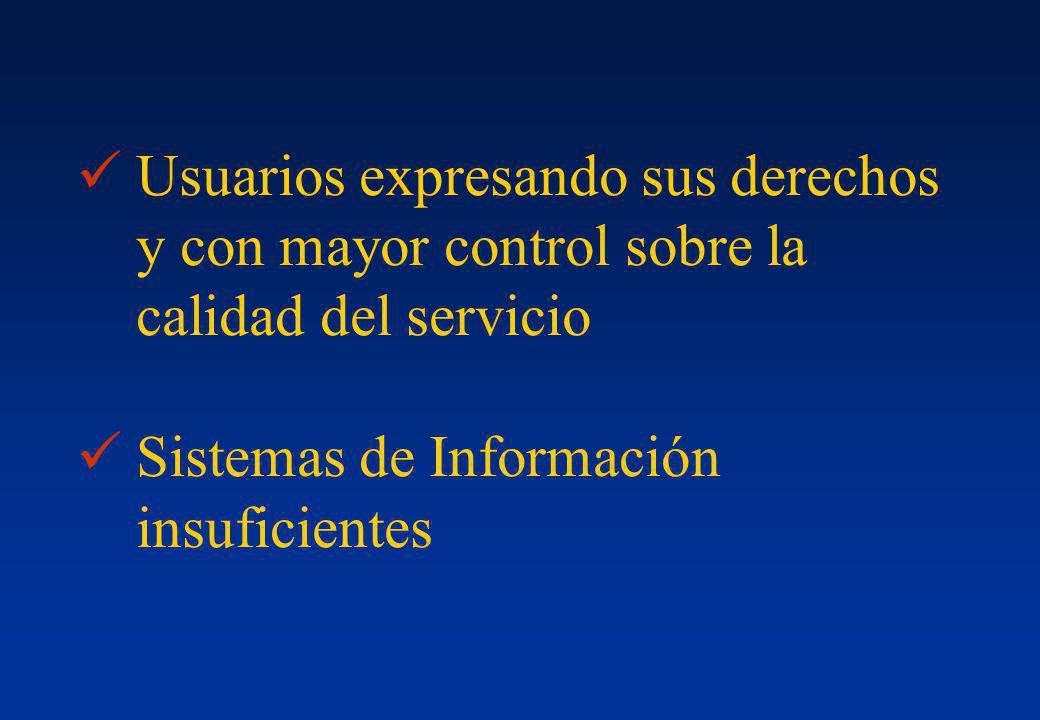 Usuarios expresando sus derechos y con mayor control sobre la calidad del servicio
