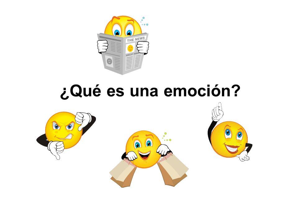¿Qué es una emoción