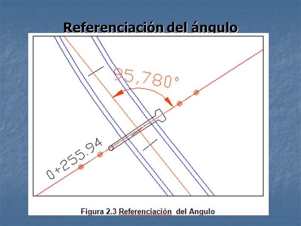 Referenciación del ángulo