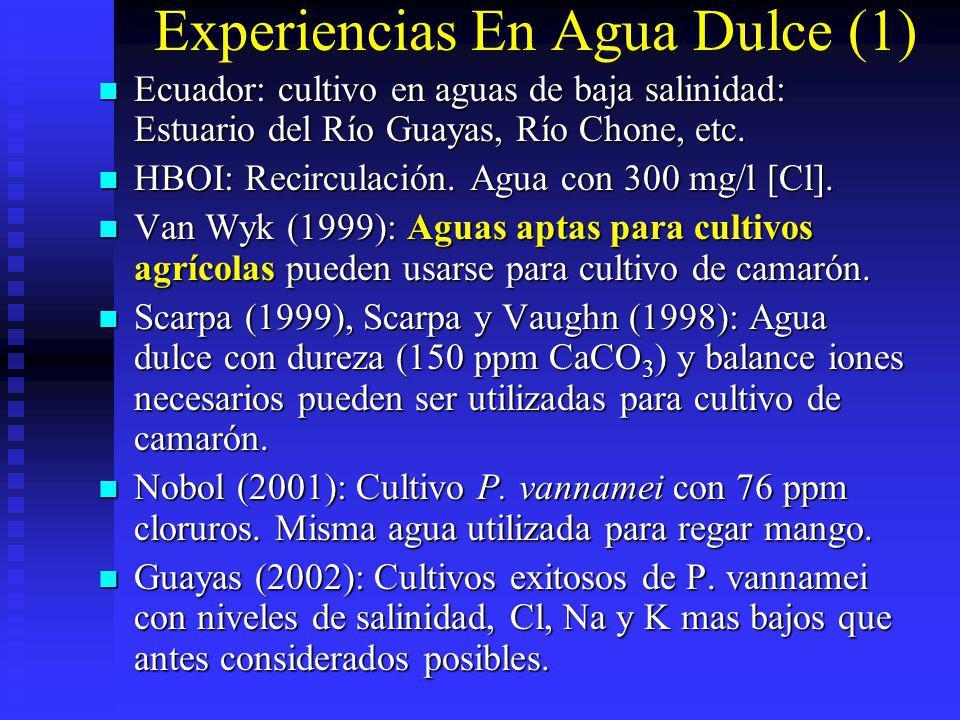 Experiencias En Agua Dulce (1)