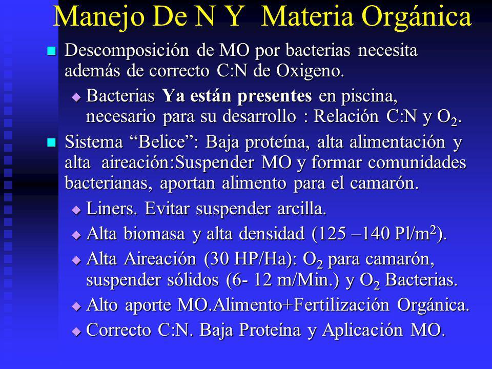 Manejo De N Y Materia Orgánica