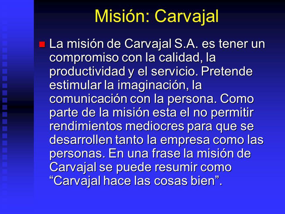 Misión: Carvajal