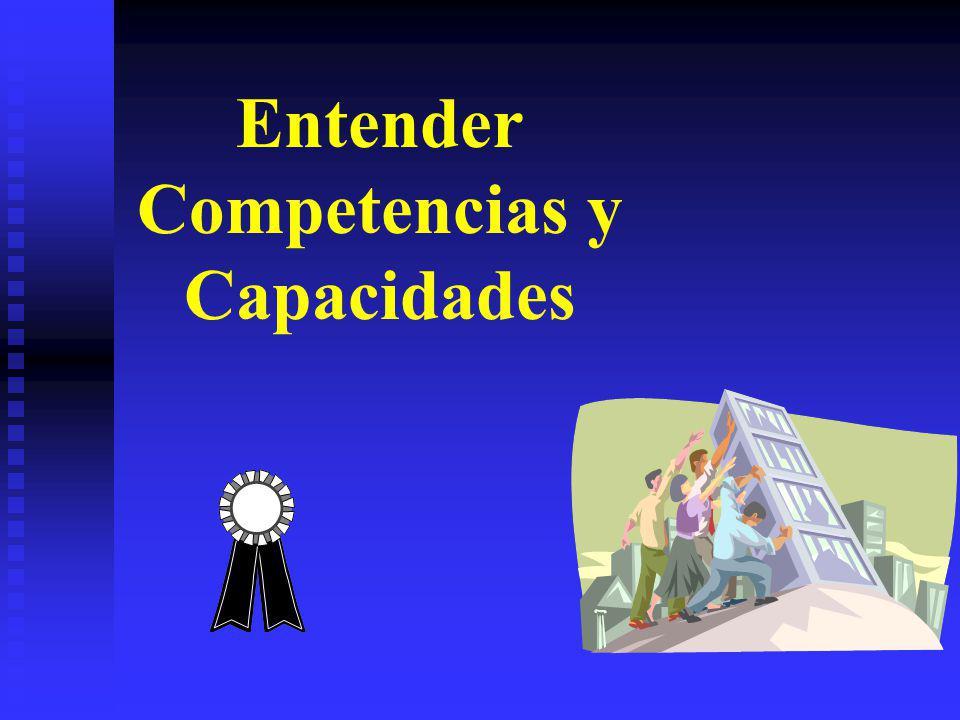 Entender Competencias y Capacidades