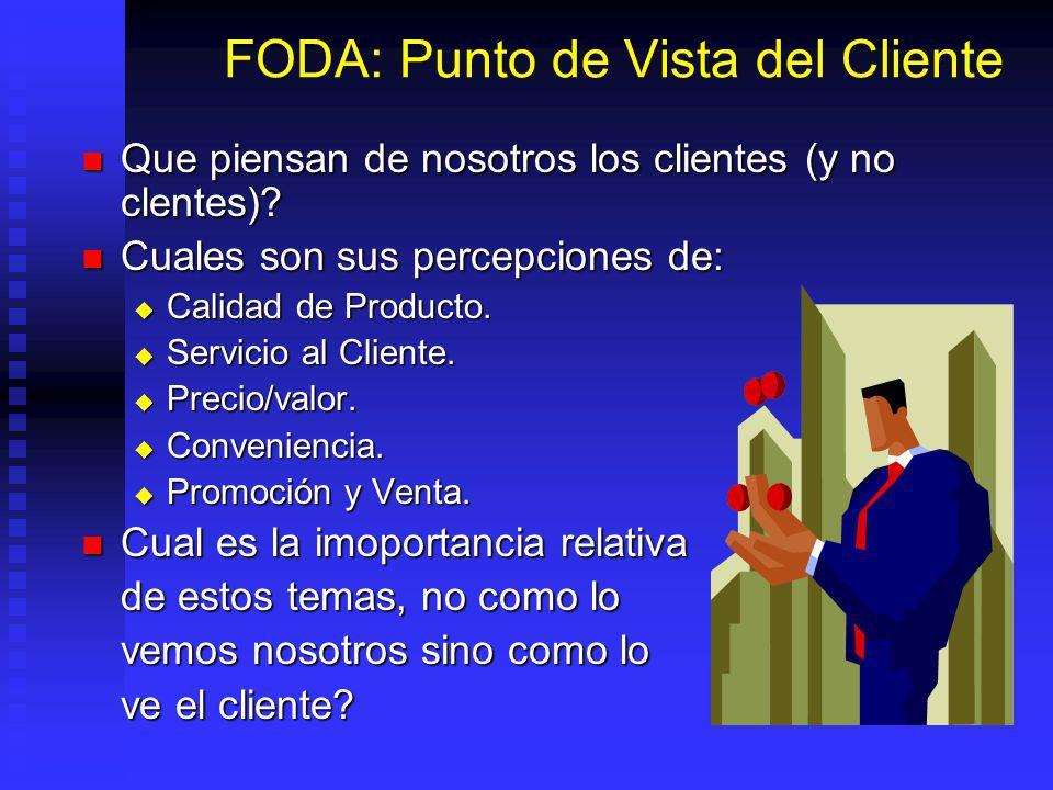 FODA: Punto de Vista del Cliente