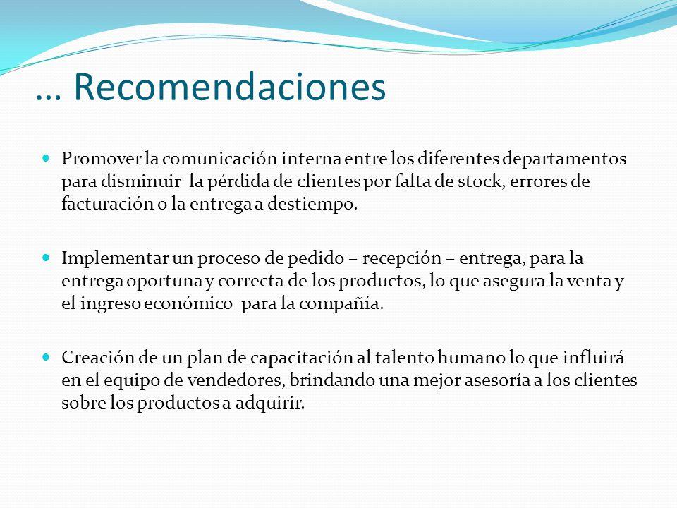 … Recomendaciones