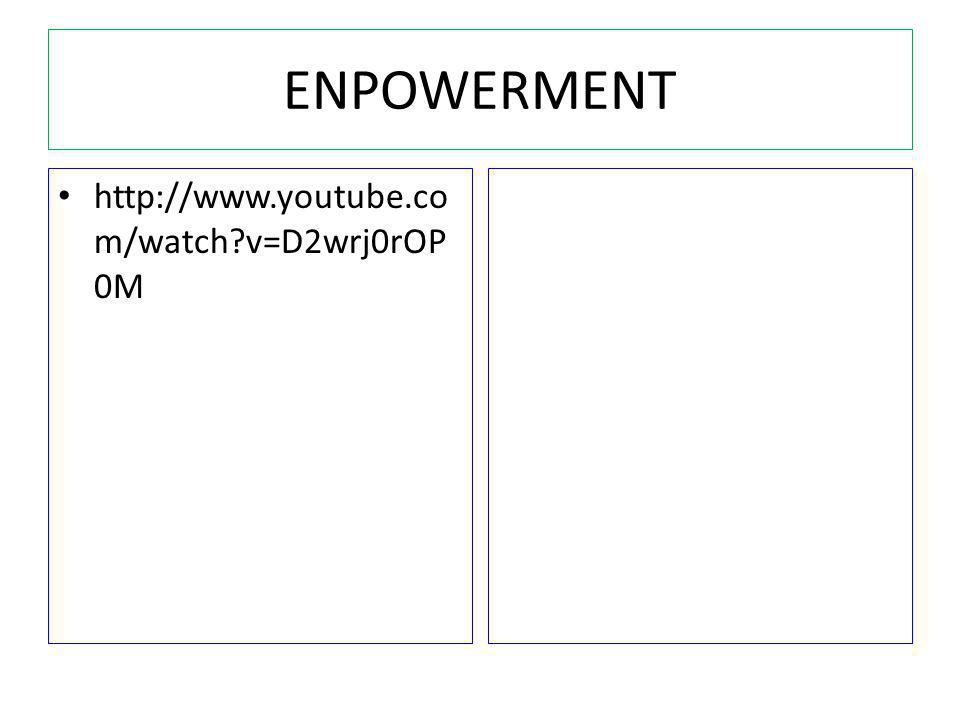ENPOWERMENT http://www.youtube.com/watch v=D2wrj0rOP0M