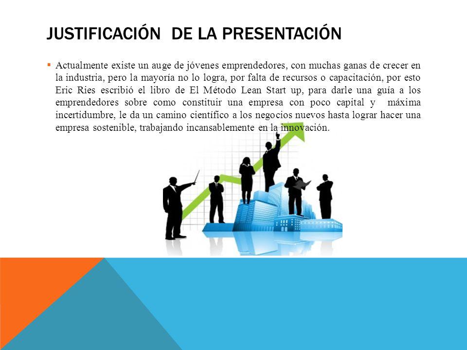 Justificación de la presentación