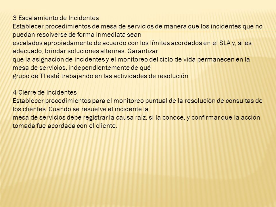 3 Escalamiento de Incidentes