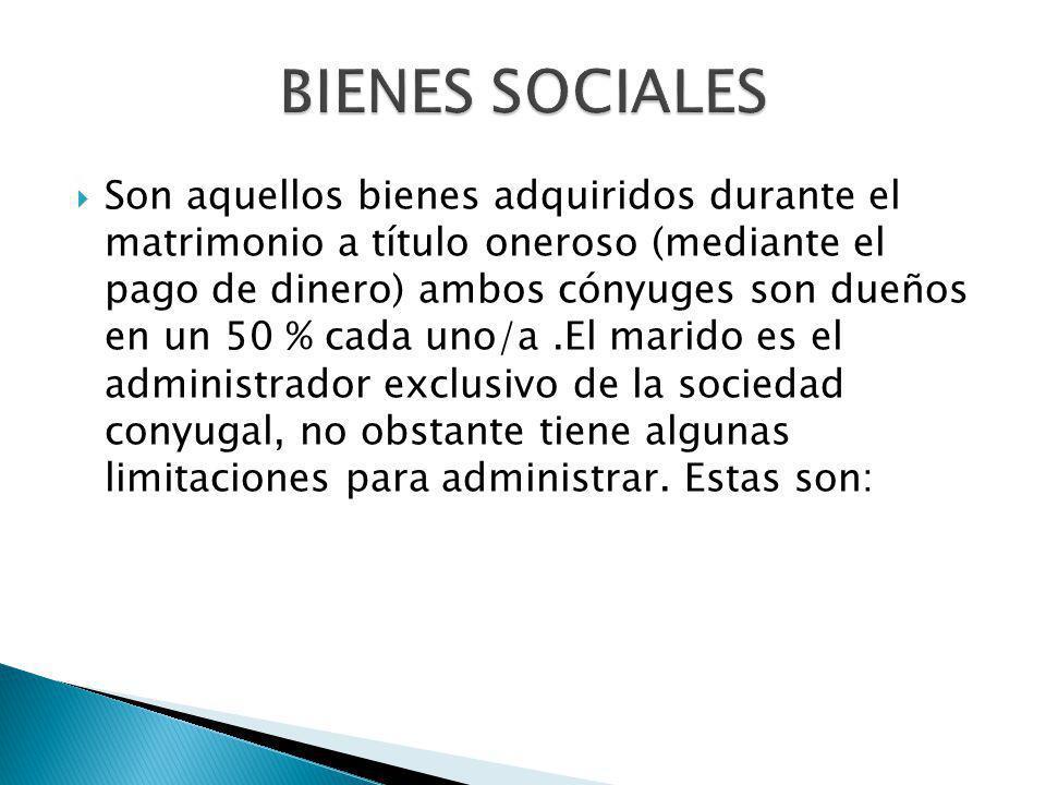 BIENES SOCIALES