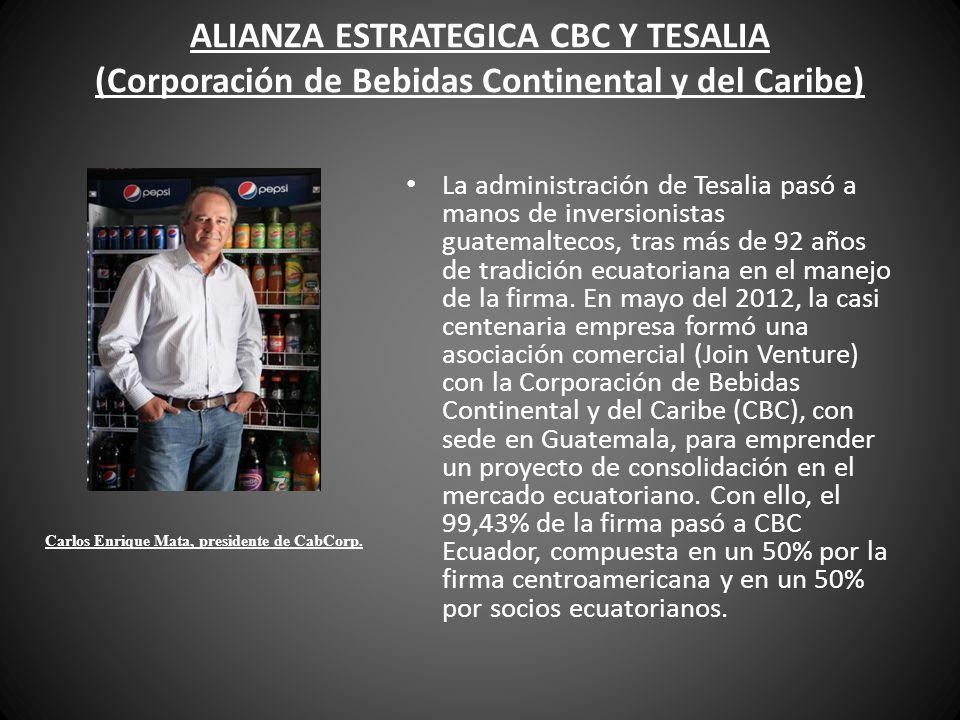 Carlos Enrique Mata, presidente de CabCorp.