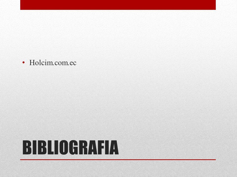 Holcim.com.ec BIBLIOGRAFIA