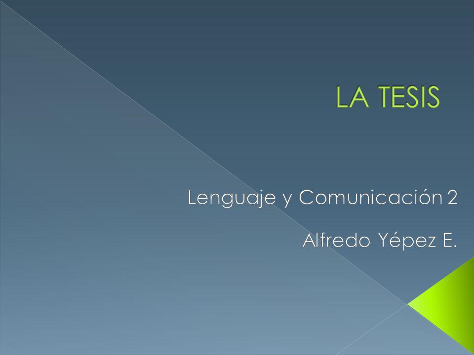 Lenguaje y Comunicación 2 Alfredo Yépez E.