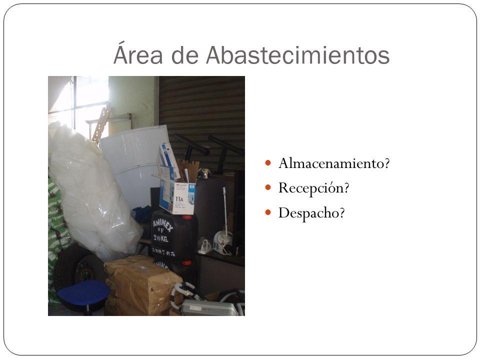 Área de Abastecimientos
