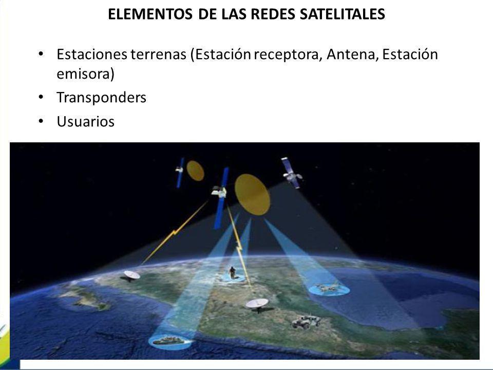 ELEMENTOS DE LAS REDES SATELITALES