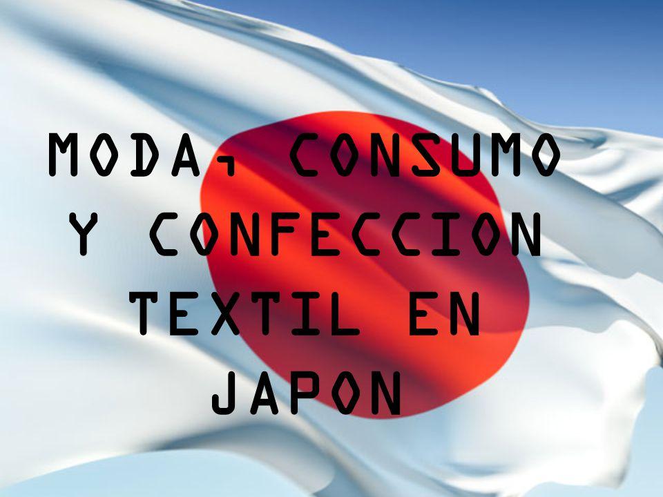 MODA, CONSUMO Y CONFECCION TEXTIL EN JAPON