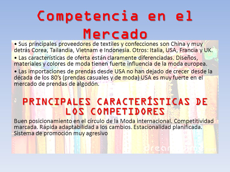 Competencia en el Mercado