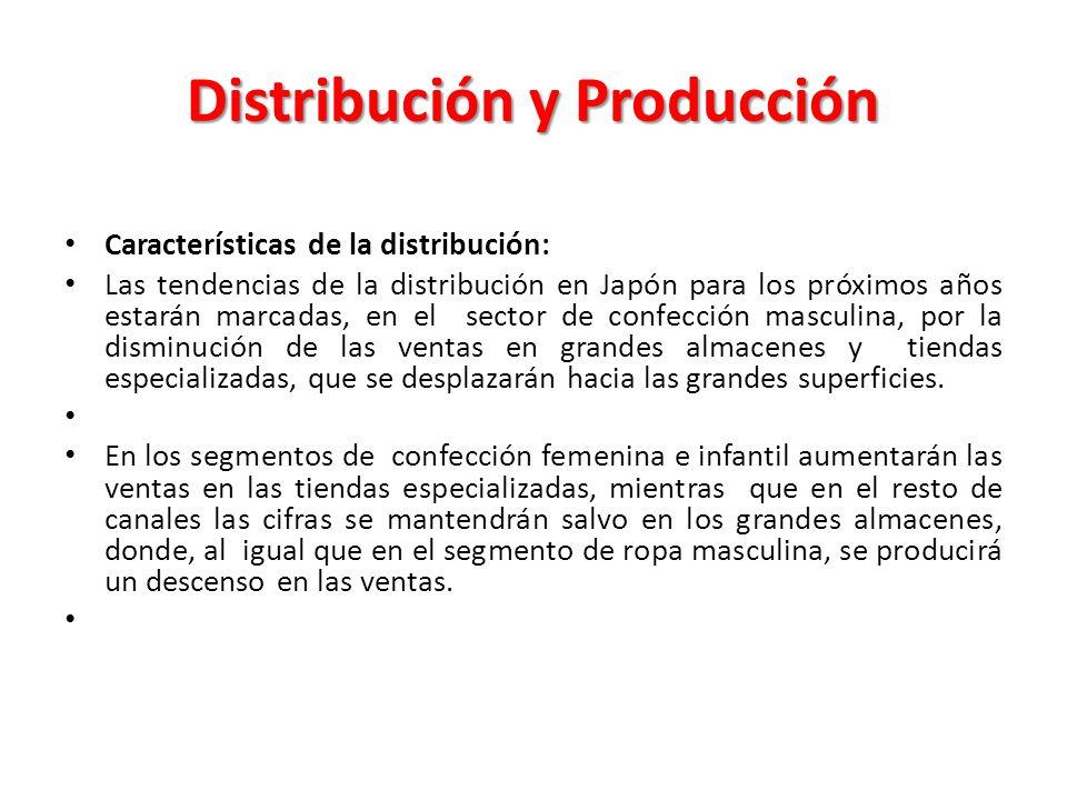 Distribución y Producción