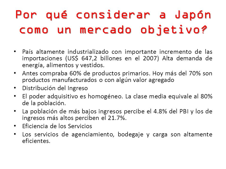 Por qué considerar a Japón como un mercado objetivo