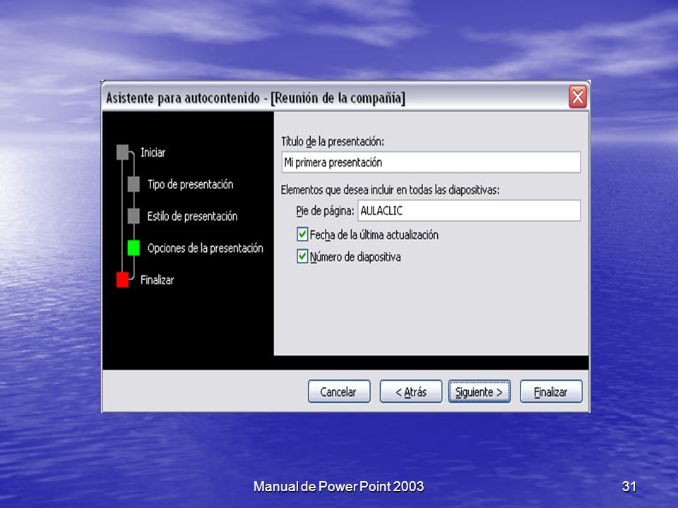 Manual de Power Point 2003