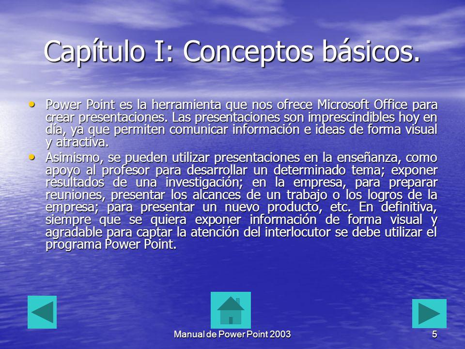 Capítulo I: Conceptos básicos.