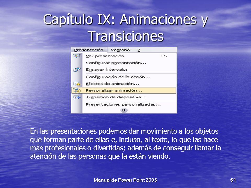 Capítulo IX: Animaciones y Transiciones
