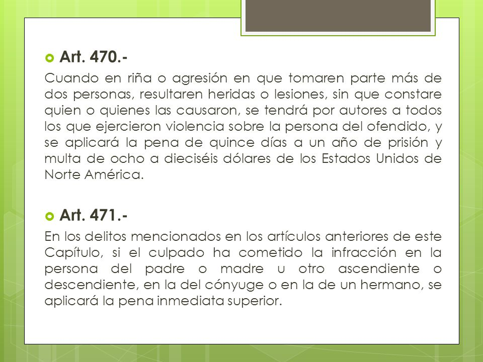 Art. 470.-