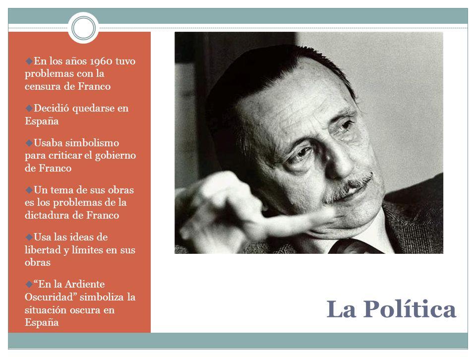 La Política En los años 1960 tuvo problemas con la censura de Franco