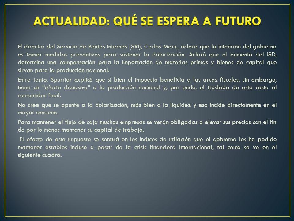 ACTUALIDAD: QUÉ SE ESPERA A FUTURO