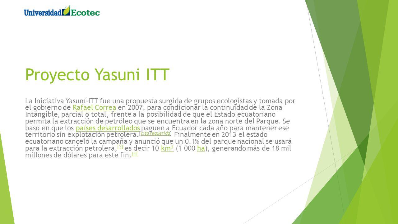 Proyecto Yasuni ITT