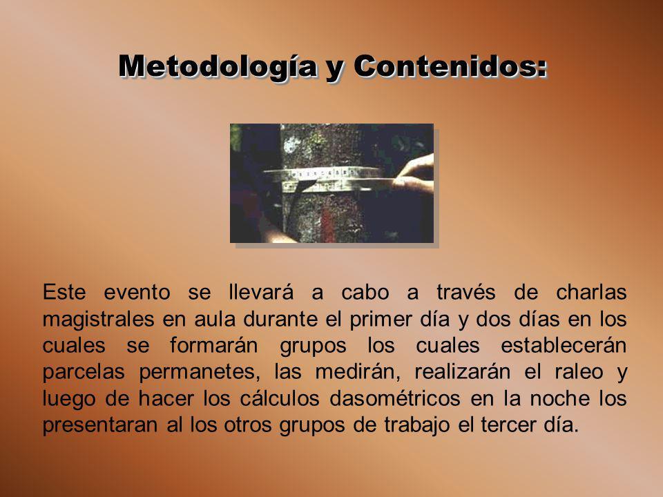 Metodología y Contenidos: