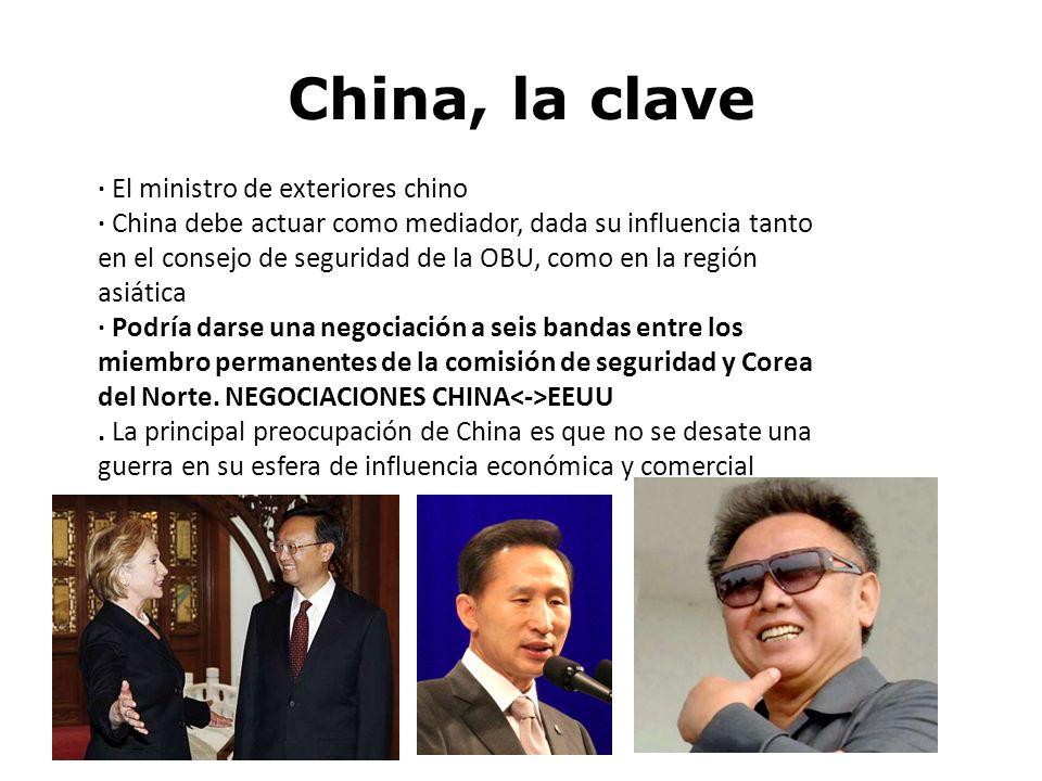 China, la clave · El ministro de exteriores chino