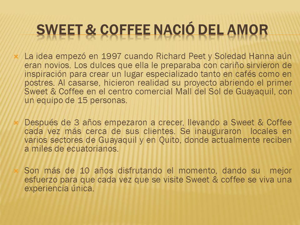 SWEET & COFFEE NACIÓ DEL AMOR