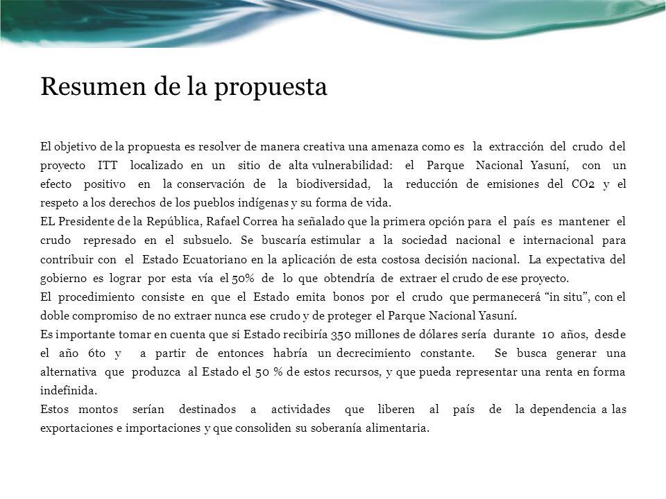 Resumen de la propuesta