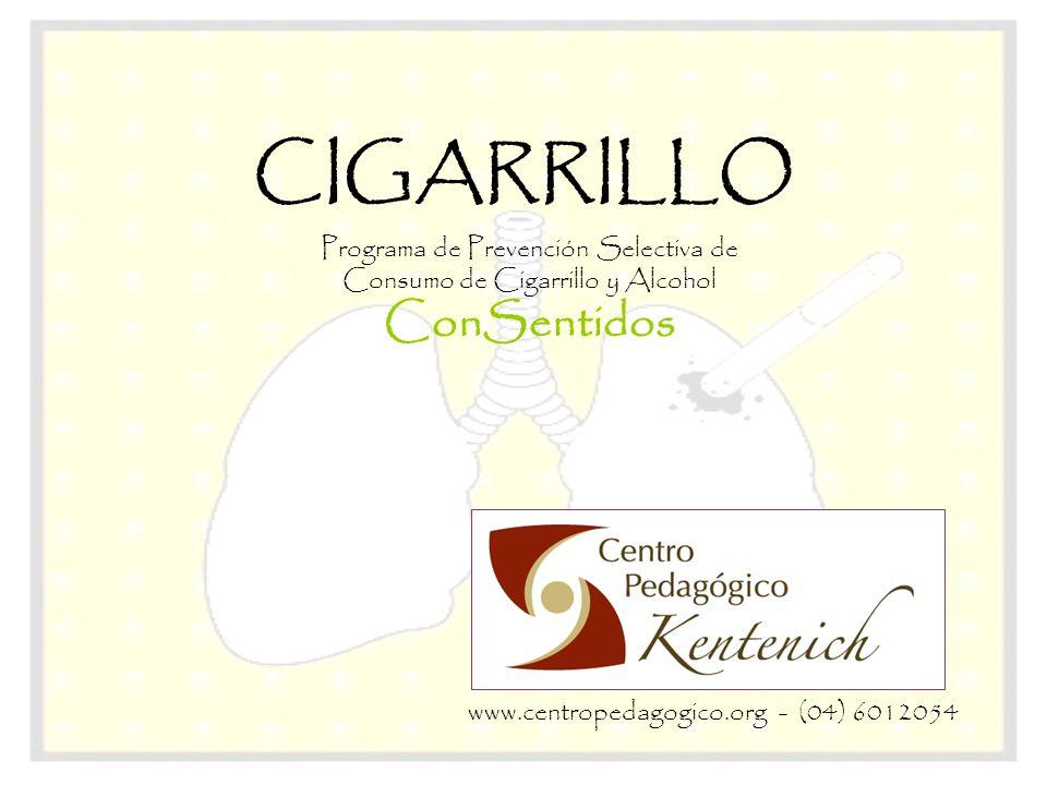 Programa de Prevención Selectiva de Consumo de Cigarrillo y Alcohol