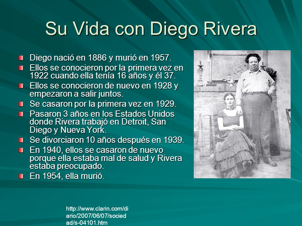 Su Vida con Diego Rivera