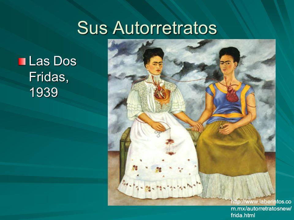 Sus Autorretratos Las Dos Fridas, 1939