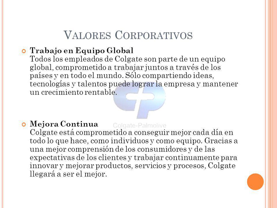 Valores Corporativos