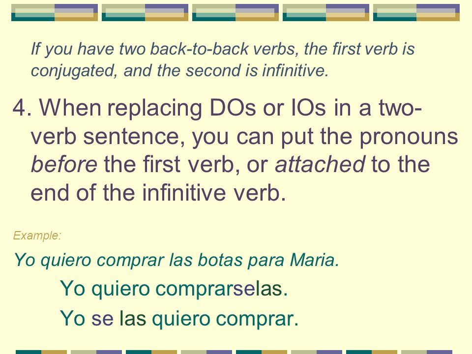 If you have two back-to-back verbs, the first verb is conjugated, and the second is infinitive.