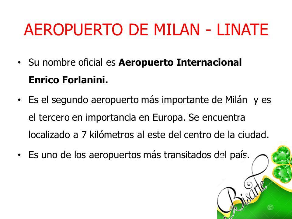 AEROPUERTO DE MILAN - LINATE