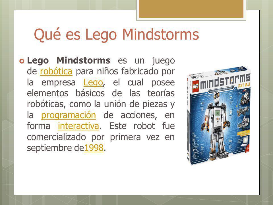 Qué es Lego Mindstorms