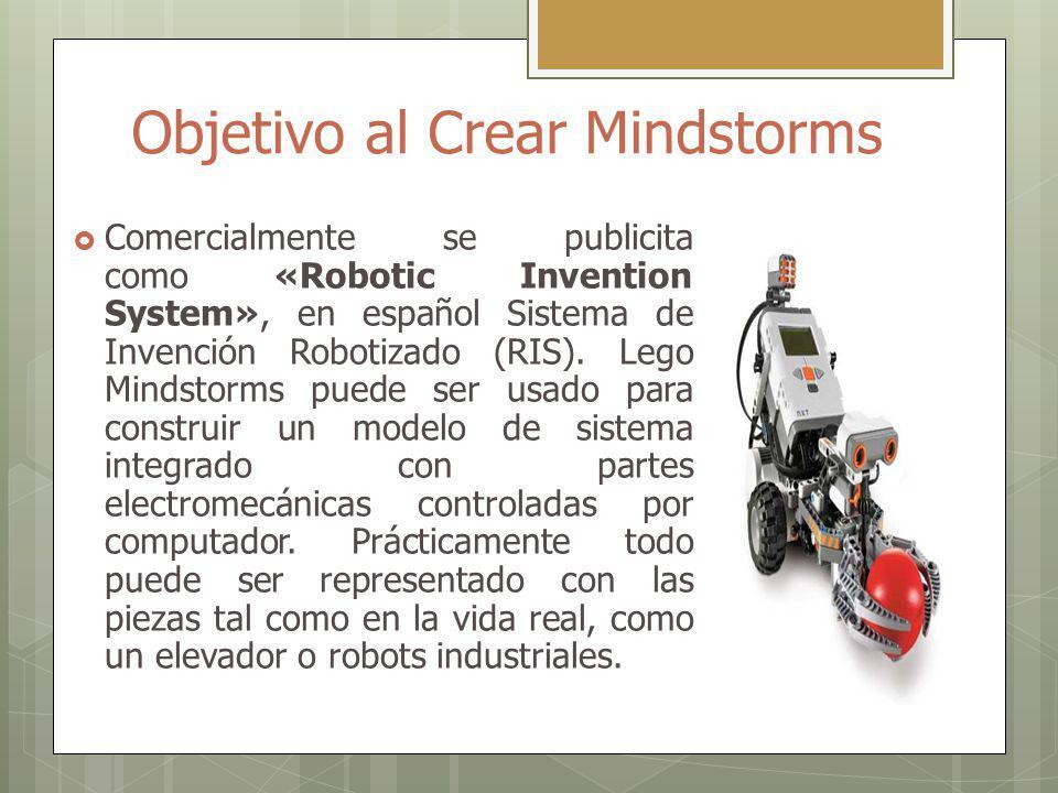 Objetivo al Crear Mindstorms