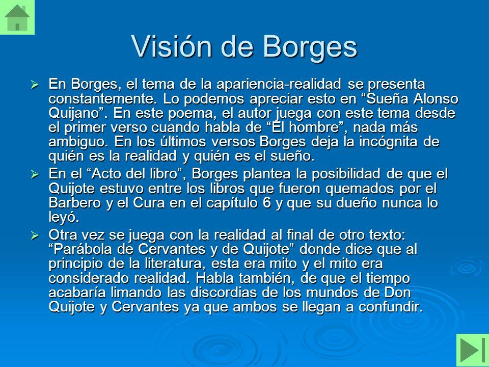 Visión de Borges